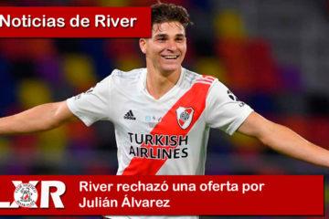 River rechazó una oferta por Julián Álvarez
