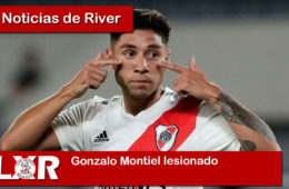 Gonzalo Montiel lesionado