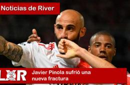 Javier Pinola sufrió una nueva fractura