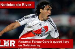 Radamel Falcao García quedó libre en Galatasaray