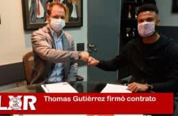 Thomas Gutiérrez firmó contrato con River