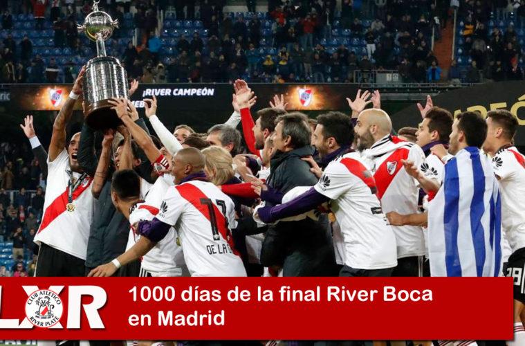 1000 días de la final River Boca en Madrid