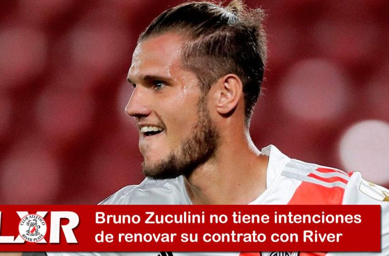 Bruno Zuculini no renovaría contrato con River