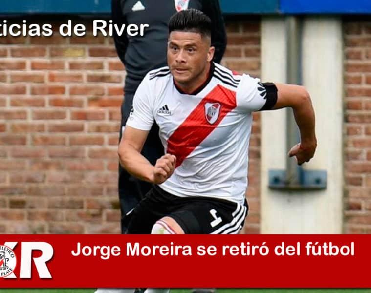 Jorge Moreira se retiró del fútbol